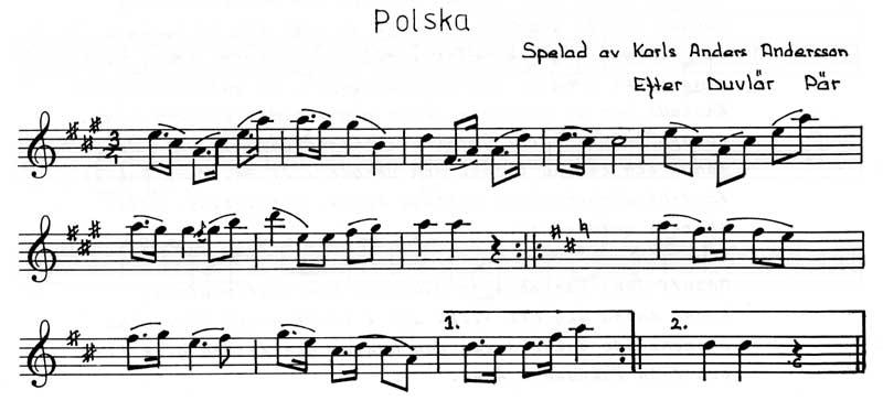 Polska efter Duvlär Pär